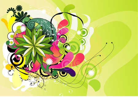 flower vector illustration Illustration