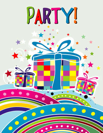 party invitation vector Illustration