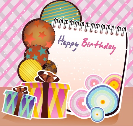 happy birthday party  Illustration