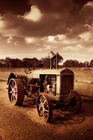 Turn The Crank And Take A Ride Down Memory Lane On A Agricultural Tractor From Yesteryear
