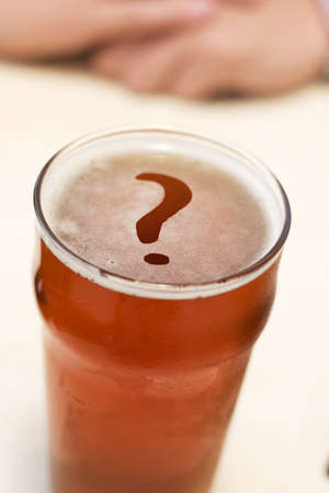 To Beer Or Not To Beer, That Is The Question Stock Photo - 11591326