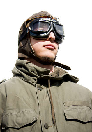 corporal: Studio Portraiture Of A Air Force Sergeant With A Look Of Confidence And Bravery