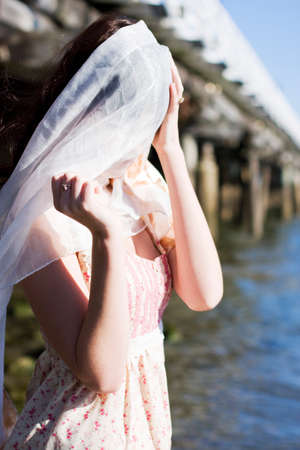 unsighted: Blinded And Without A Compass A Woman Stagers Along An Ocean Coastline Lost At Sea