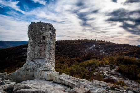 Thracian city in the Eastern Rhodopes in Bulgaria photo