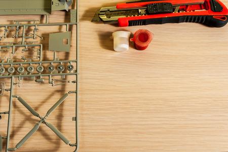 hobby: Hobby of assembling of plastic model