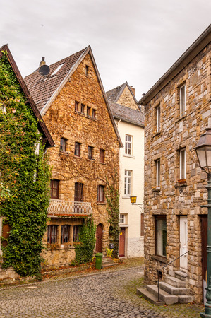 View In The Streets Of Aachen, Germany