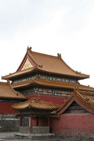 Forbidden City Beijing Stock Photo - 1744318