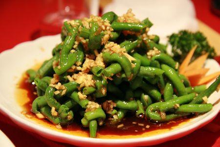 Chinese bean schotel - typisch gerecht van de provincie Sichuan