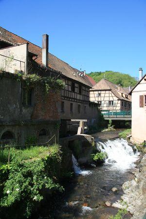 andlau: Andlau near the Route du Vin in the Alsace region