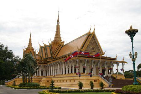 cambodge: Royal Palace in Phnom Penh Stock Photo