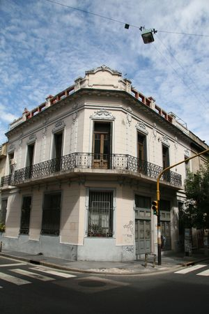 A typical house in the San Telmo neighboorhoud in Buenos Aires, Argentina Stock Photo - 2469704