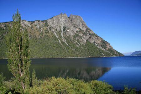 bariloche: Lago Nahuel Huapi near Bariloche in north Patagonia, Argentina