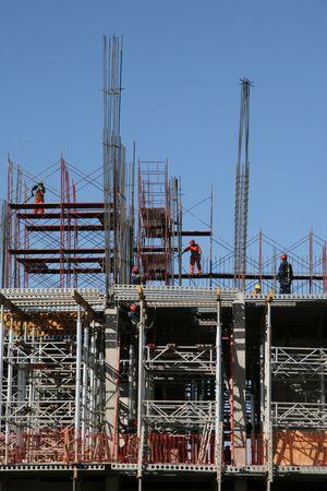 Construction site in Valdivia, Chile Stock Photo - 2709054