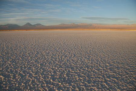 Zout flat Salar de Atacama in de buurt van San Pedro de Atacama in het noorden van Chili