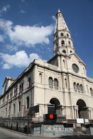montevideo: San Francisco Church in the Old Port in Montevideo, Uruguay