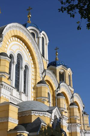 kyiv: St. Volodymyr cathedral in Kyiv, Ukraine