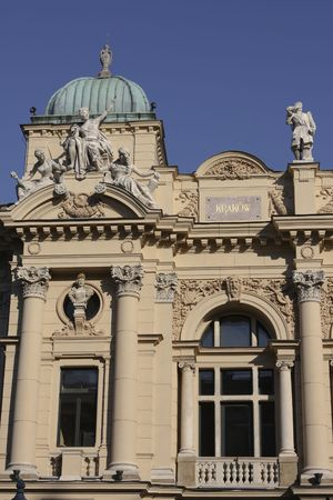 cracow: Slowacki theatre in Cracow