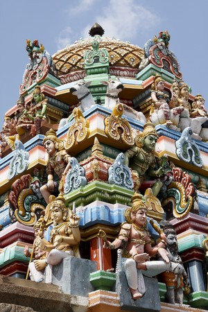tamil nadu: Kapaleeswarar temple in Chennai, Tamil Nadu province, India Stock Photo