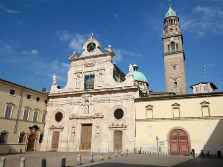 San Giovanni church in Parma, Lombardy, Italy Stock fotó