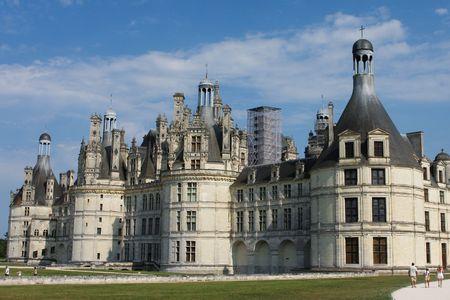 chambord: The royal Ch�teau de Chambord at Chambord, Loir-et-Cher, France