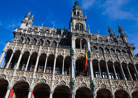 Maison du Roi or the Kings House on the Grand Place in Brussels, Belgium