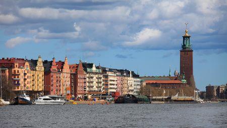 City Hall of Stockholm Stock Photo