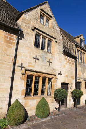 Typical Cotswolds houses in Chipping Camden, Gloucestershire photo