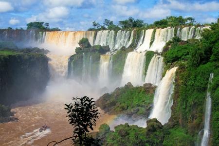 Iguazu Wasserfälle in Argentinien Standard-Bild