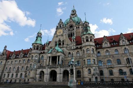Neues Rathaus in Hannover, Deutschland