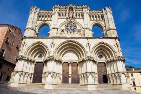 cuenca: Cathedral of Cuenca in Castille La Mancha, Spain  Stock Photo