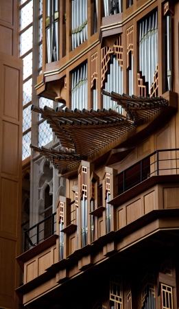 Organ in the cathedral of Brussels in Belgium Stock Photo - 15568514