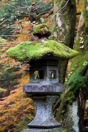 Stone lantern at Toshogu Shrine, Nikko, Japan photo