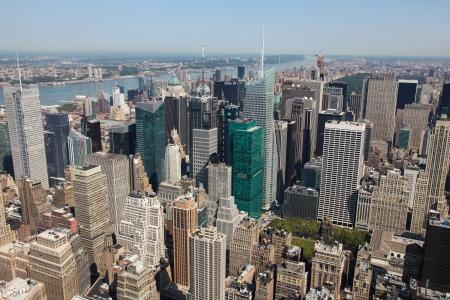Skyline of Manhattan in New York City, United States Stock Photo - 17283017