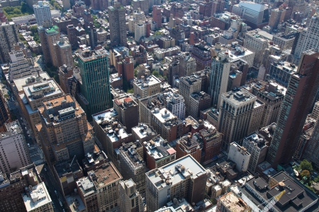 Rooftops of Manhattan in New York City photo