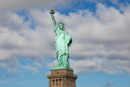 Statue of Liberty in New York City Stock Photo - 17328074