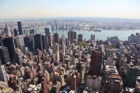 Skyline of Manhattan in New York City, United States Stock Photo - 17348762