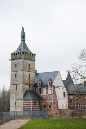 Castle of Horst, a medieval castle in the municipality of Holsbeek, Belgium