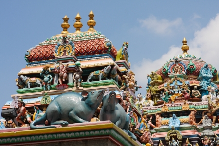 Kapaleeshwarar temple in Chennai, Tamil Nadu, India. This temple was created in the 7th Century, no property release is required. Banque d'images