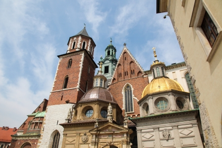 Wawel cathedral is a Roman Catholic church located on Wawel Hill in Krakow, Poland Stock Photo - 18724170