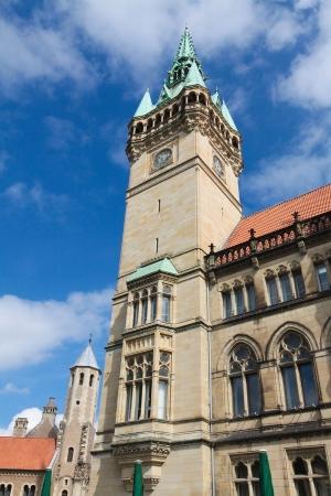 rathaus: Rathaus (city hall) in Braunschweig, Niedersachsen, Germany. Stock Photo