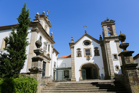 lima region: Museu dos Terceiros in Ponte de Lima, a town in the Northern Minho region in Portugal. Editorial