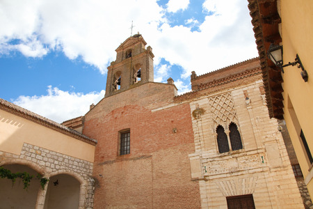 castile: Real Monasterio de Santa Clara de Tordesillas or Convent of Santa Clara in Tordesillas, Valladolid province, Spain. In this convent, Joanna I, Queen of Castile and Aragon, was confined in 1509.