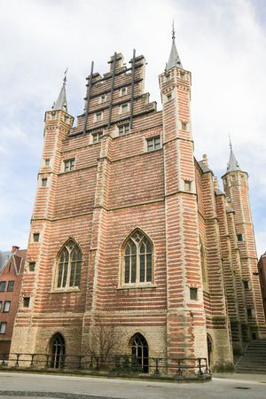 16th century: The Vleeshuis, also Butchers Hall or Meat Hall, is a former guildhall in the center of Antwerp, built in the early 16th Century.