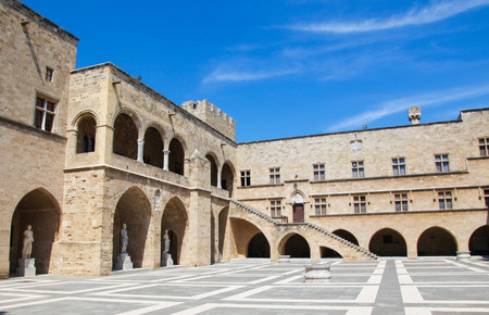 crusade: Palace of the Grand Master of the Knights of Rhodes, a medieval castle of the Hospitaller Knights on the island of Rhodes, Greece.