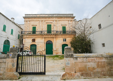 south italy: CISTERNINO, ITALY - MARCH 15, 2015: Cisternino is a comune in the province of Brindisi in Puglia, South Italy, known for its Salento wine