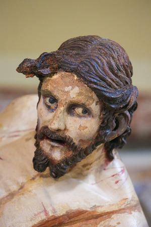 south italy: Statue of Jesus on Good Friday in Martina Franca, Taranto province, South Italy.