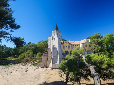 Museu Condes de Castro Guimaraes in Cascais in Cascais, a Portuguese coastal town 30 km west of Lisbon.