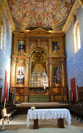 Sao Miguel Chapel or Saint Michael's Chapel is a chapel of the University of Coimbra, Portugal.