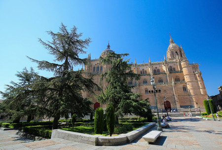 New Cathedral or Catedral Nueva of Salamanca, Spain