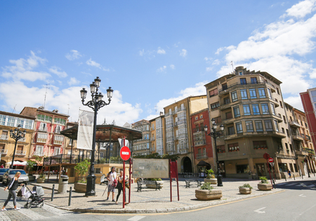 Capital Of Rioja plaza de la paz in the center of haro, capital of la rioja wine